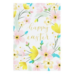 Pack Of 10 'Easter Floral' Easter Cards