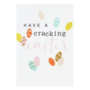 Pack Of 10 'Easter Eggs' Easter Cards