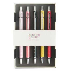 Slogan Boxed Set Of Five Pens