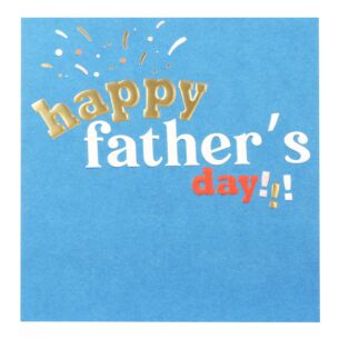 'Happy Father's Day' Father's Day Card