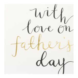 'Love On Father's Day' Father's Day Card