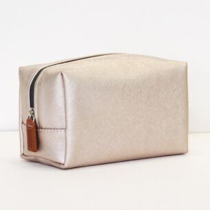 Rose Tinted Cube Cosmetic Bag
