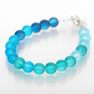 Blues Frosted Galaxy Bracelet
