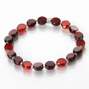 Red Bohemian Bracelet