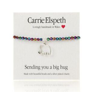 Sending You A Big Hug Sentiment Bracelet