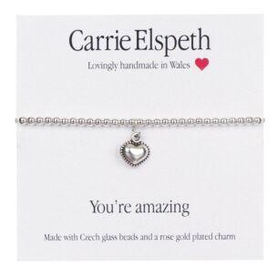 You're Amazing Sentiment Bracelet