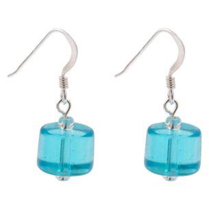 Aqua Shine Earrings