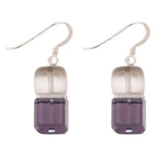 Carrie Elspeth Purple Midnight Deluxe Earrings