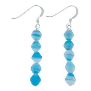 Blue Ice Floe Earrings