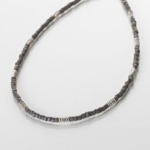 Carrie Elspeth Grey Aztec Necklace
