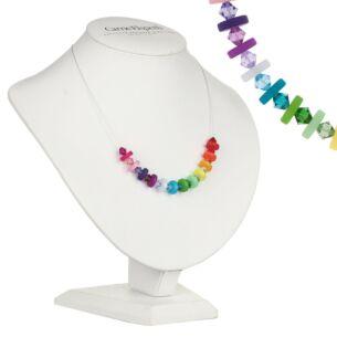 Rainbow Polaris Necklace