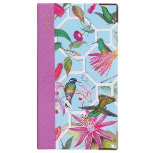 Hummingbird Trellis 2021 Slim Diary