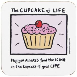 The Cupcake Of Life Coaster