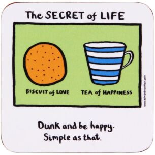 Edward Monkton The Secret of Life Coaster