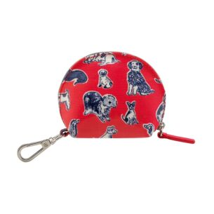 Cath Kidston Mini Squiggle Dogs Curved Purse Keychain