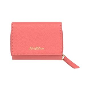 Pink Leather Small Wallet
