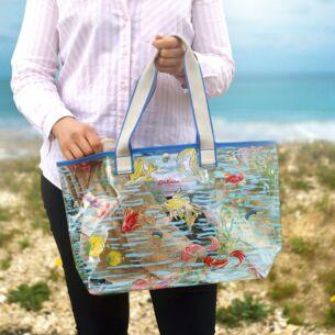 Cath Kidston Ocean Fish PVC Tote Bag