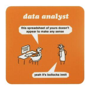 'Data Analyst' Coaster