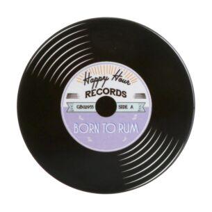 'Born to Rum' Record Coaster