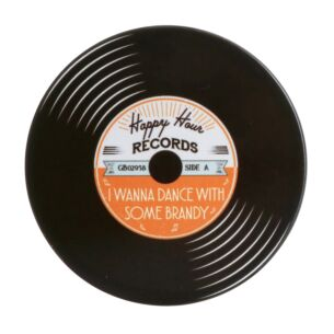 'I Wanna Dance with Some Brandy' Record Coaster