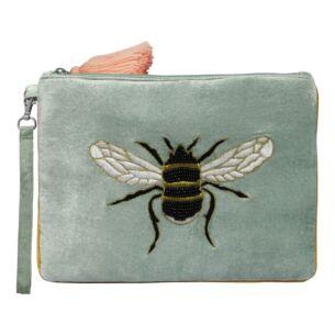 Eden Velvet Bee Pouch