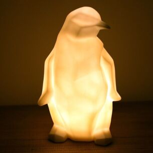 Large Origami Penguin Lamp