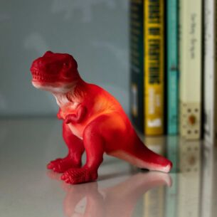 Small LED Red T-Rex Light