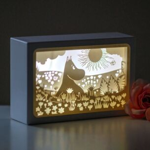 Moomin 'Field' Shadow Box
