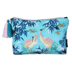 Luxe Crane Make Up Pouch