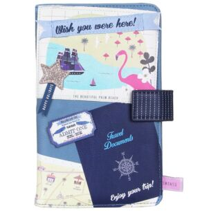 Disaster Designs Memento 'Beach' Travel Wallet