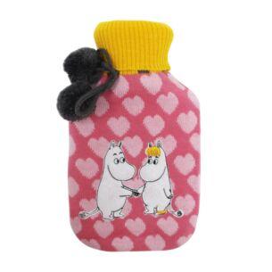 Disaster Designs Moomin Heart Hot Water Bottle