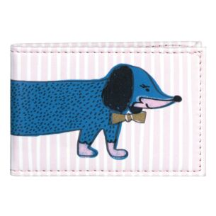 Over The Moon Sausage Dog Travel Card Holder