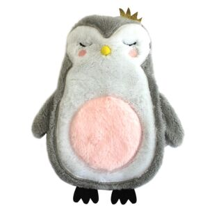 Disaster Designs Over the Moon Penguin Hot Water Bottle