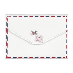 Disaster Designs Paper Plane Envelope Travel Wallet
