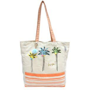 Disaster Designs Sherbet Palm Tree Shopper Bag