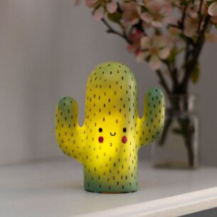 Small LED Hi-Kawaii Small Cactus Lamp