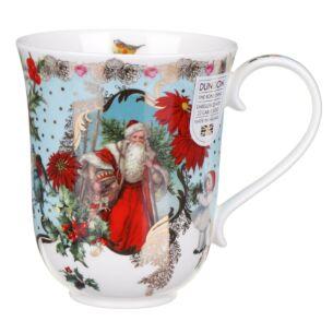 Vintage Christmas Braemar Shape Mug