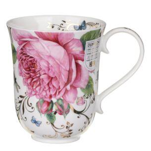 Dunoon Vintage Rose Braemar Shape Mug