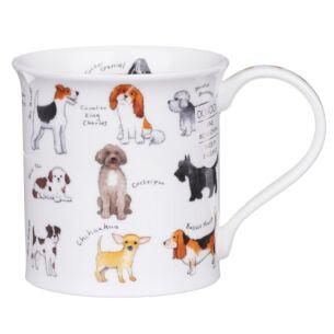 Animal Breeds Dog Bute Shape Mug