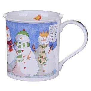 Jolly Snowman Bute shape Mug