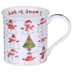 Dunoon Snowmen Bute Shape Mug