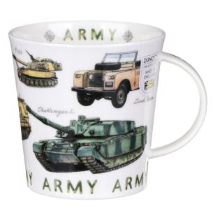 Armed Forces Army Cairngorm Shape Mug