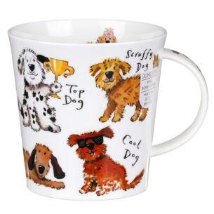 A Dog's Life Cairngorm Shape Mug