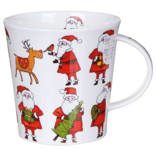Santa's Brigade - Reindeer Cairngorm Shape Mug