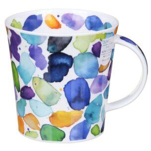 Blobs! Blue Cairngorm Shape Mug