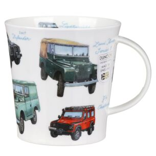 Classic Collection Land Rovers Cairngorm shape Mug