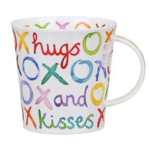 Dunoon Hugs & Kisses Cairngorm Shape Mug