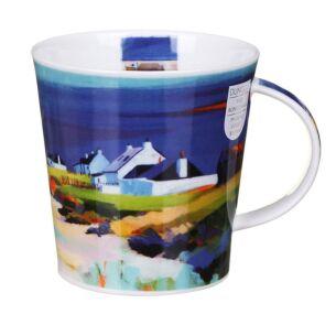 Restful Shores Green Cairngorm Shape Mug