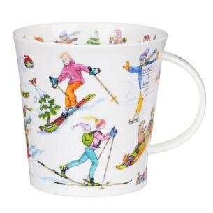 Dunoon Slippery Slope Cairngorm Shape Mug