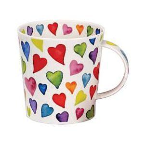 Dunoon Warm Hearts Cairngorm shape Mug